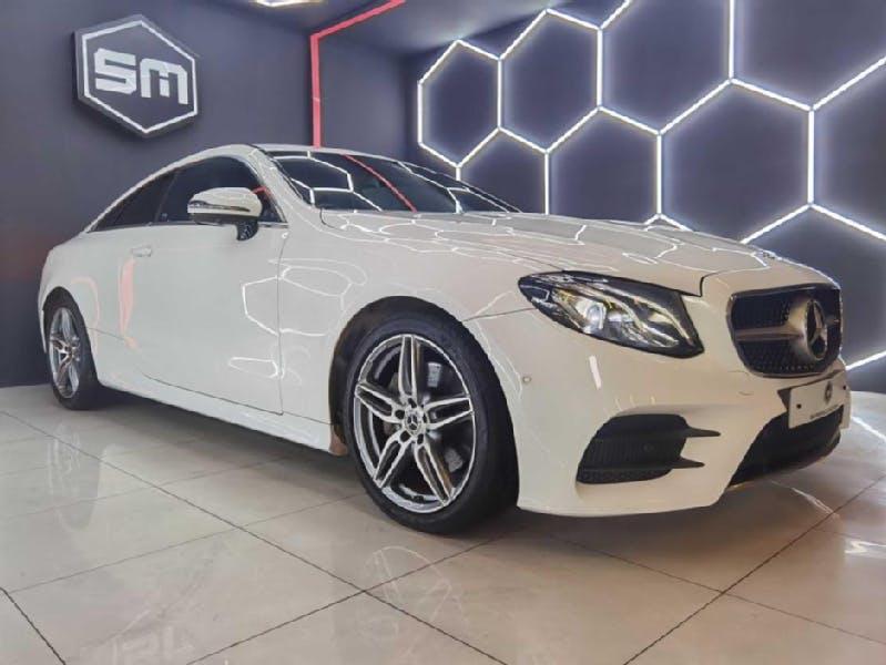 Mercedes-Benz E 220 2018 full